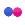 Flickr logo tan